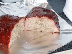 Smoked Turkey Meat Loaf
