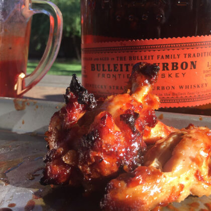 Recipe: Bourbon Bacon Chicken Wings
