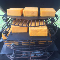 Cold Smoking Cheese Stack